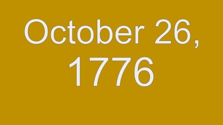 This Day in History - October 26th