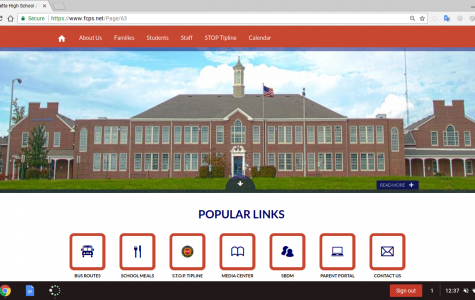 Lafayette's New School Website