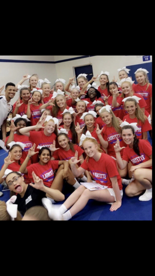 LHS Cheer Goes to Orlando