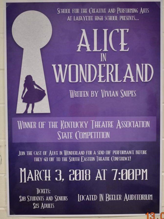 Alice in Wonderland at SETC