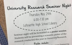 University Research Seminar Night