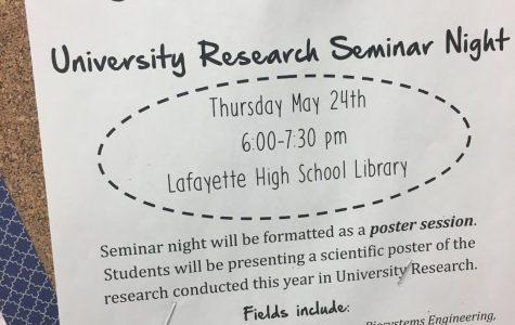 University Research Seminar Night