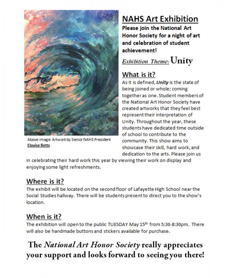 NAHS+Art+Exhibition