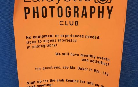 Photography Club Introduction