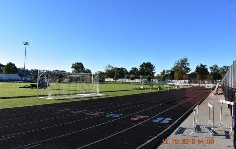 The Lafayette track where the club often runs.
