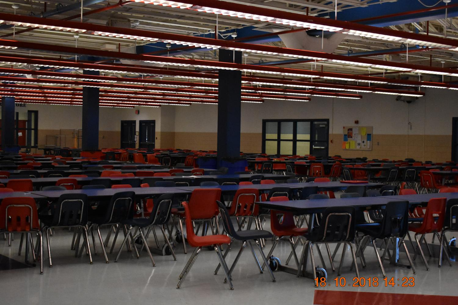 The Lafayette cafeteria majority of the Preview Night takes place.