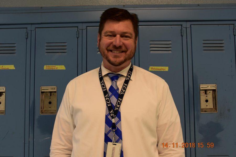 Mr. David Scholl Vice Principal of Lafayette