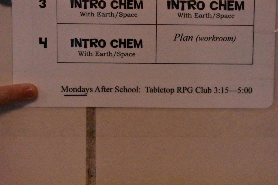 Tabletop RPG club