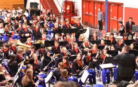 Lafayette Band Area Concert