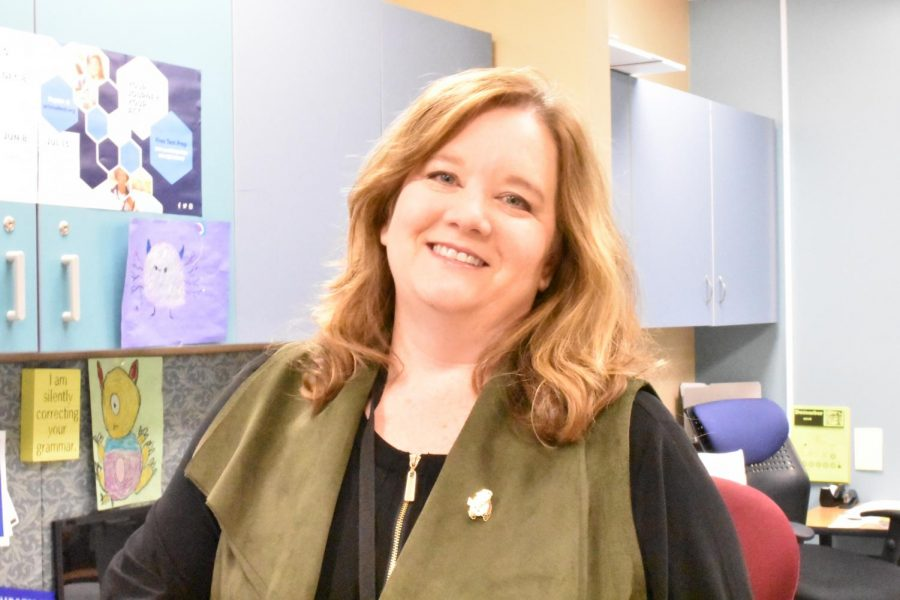 Tracey Baker, one of our counseling office secretaries.