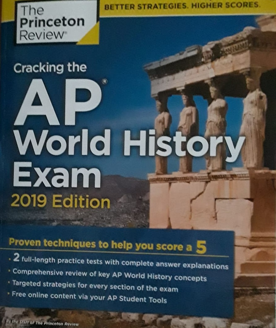 Review book for AP World History AP exam.