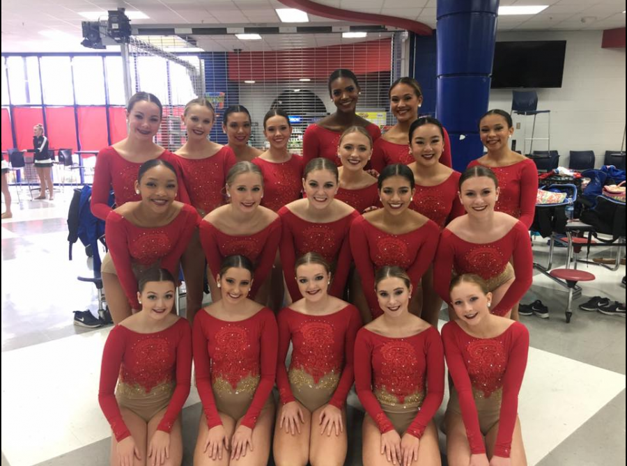 Lafayette Dance Team at the UDA Regional