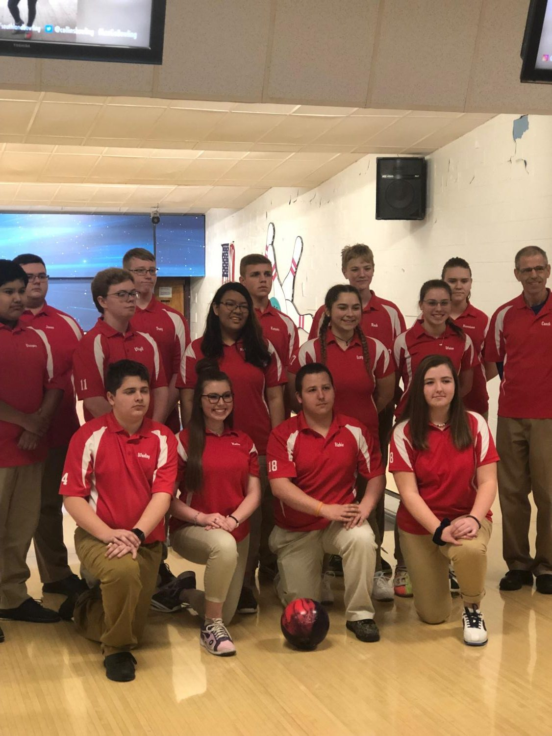 The Lafayette Bowling Team