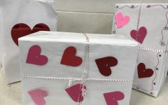 How do the Students and Staff at Lafayette High School Celebrate Valentine's Day?