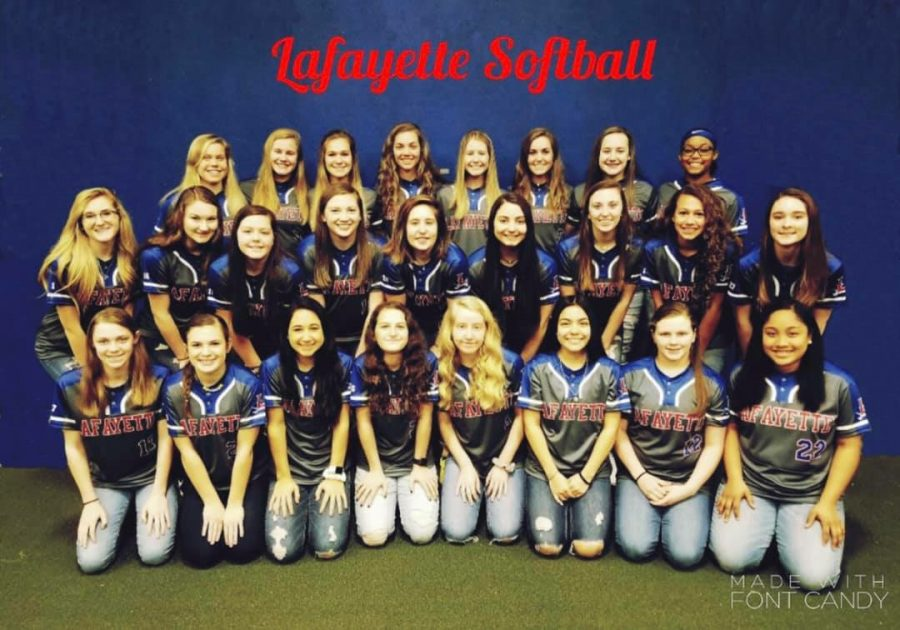 2019 Softball Team