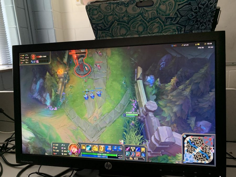 League+of+Legends+game