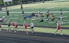 Track Meet at Tates Creek 3/27