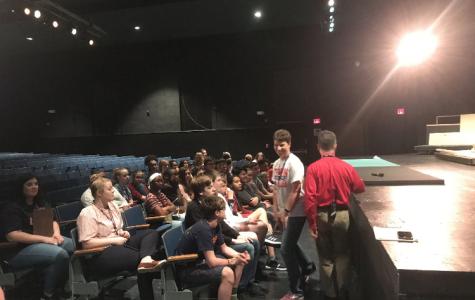 Rising 9th graders visit Lafayette