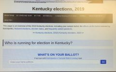 Kentucky Primary – Who's On The Ballot