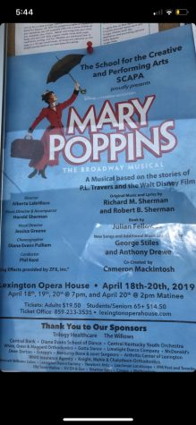Mary Poppins Announcement