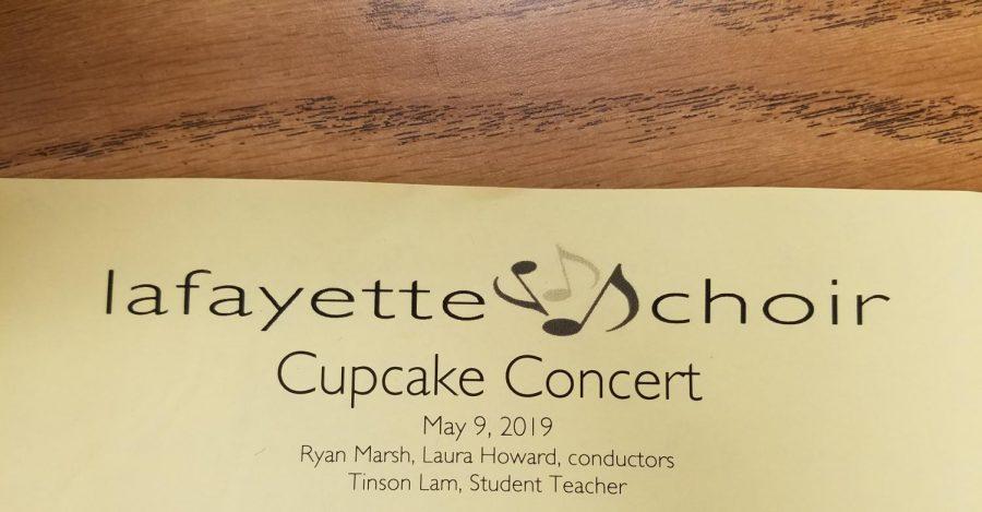 Cupcake+Concert+program