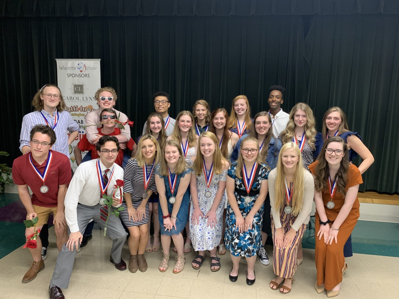 Lafayette Choir Seniors