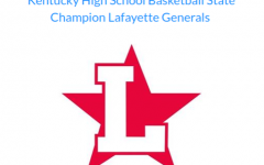 Lafayette basketball's homage, describing them as the 6-time state championship winners.