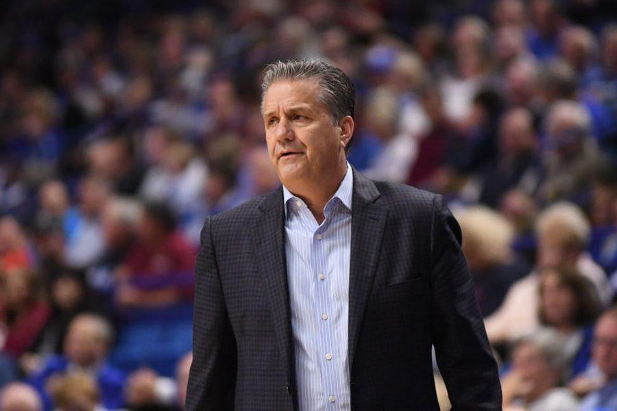 Kentucky+Men%27s+Basketball+Head+Coach+John+Calapari.