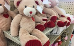 LEXINGTON, KY:  Stores like Hobby Lobby have their shelves stocked with teddy bears and candy to help encourage people to give gifts this Valentine's Day.