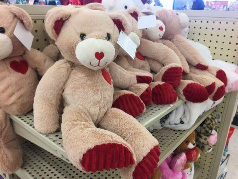 LEXINGTON, KY:  Stores like Hobby Lobby have their shelves stocked with teddy bears and candy to help encourage people to give gifts this Valentine