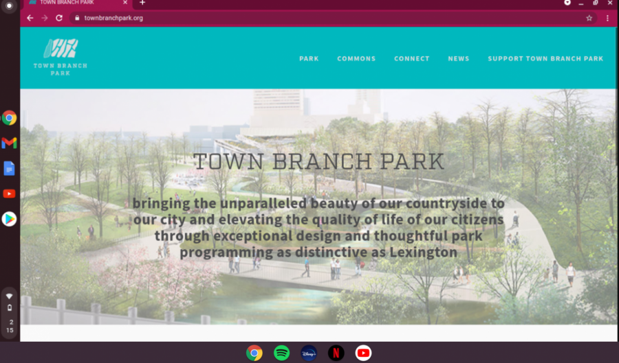 Here, you can see is the offcial website of the park. It has all the  information that you need, and has all the answers to the questions you could possibly have. This picture is another screenshot from the park's offcial website.